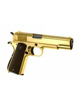 Softair   Pistole   We   M1911 Full Metal Gbb Gold   Ab 18, über 0,5 Joule by Ebay Seller
