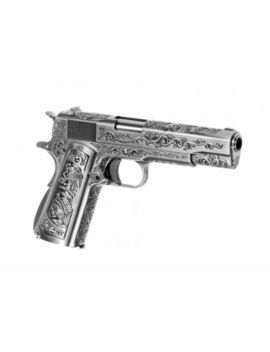 Softair   Pistole   We   M1911 Etched Full Metal Gbb   Ab 18, über 0,5 Joule by Ebay Seller