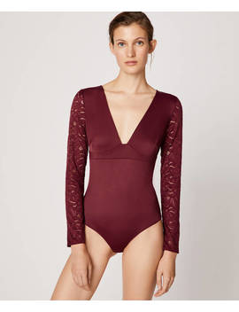 Body With Lace Back by Oysho