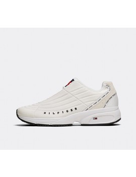 Heritage Runner Trainer | White / White by Tommy Hilfiger
