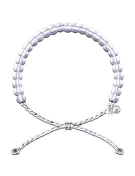 4 Ocean Polar Bear Bracelet White by Well