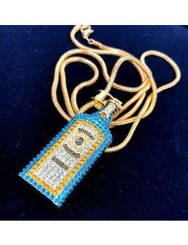 Iced Out Bombay Gin Ice Herren Schmuck Kette Diamant Chain   Spezialanferti<Wbr>Gung! by Ebay Seller