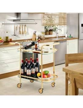 Palmquist Serving Kitchen Bar Cart by Everly Quinn