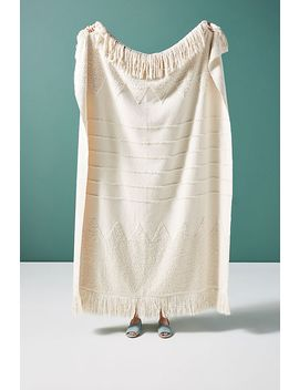 Cleo Throw Blanket by Anthropologie