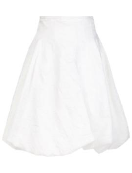 Tanya Wrinkled A Line Skirt by Khaite