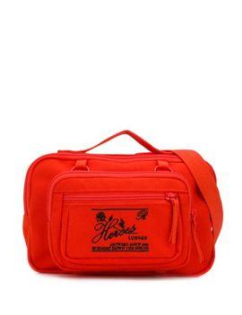 Orange X Eastpak Waistbag Loop Messenger Taske by Raf Simons