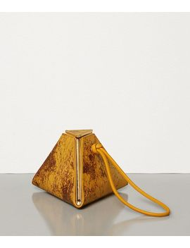 Pyramid Bag In Spazzolato Calf Leather by Bottega Veneta