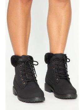 Higher Limits Booties   Black by Fashion Nova