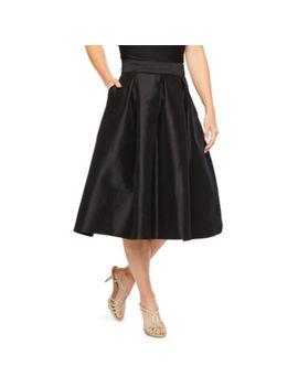 Ronni Nicole Womens Midi Flared Skirt by Ronni Nicole