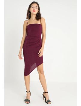 Go Slinky Pleat Cami Dress   Cocktailjurk by New Look
