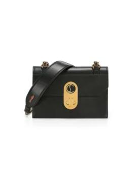 Mini Elisa Leather Shoulder Bag by Christian Louboutin
