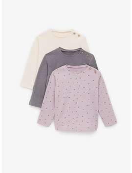 3 Pack Of Long Sleeve T Shirts by Zara