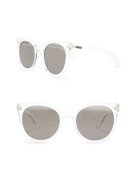 Like Wow 55mm Modified Cat Eye Sunglasses by Quay Australia