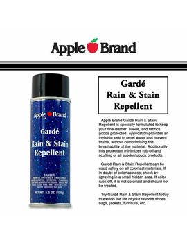 2 Apple Brand Leather Care Rain And Stain Repellent 5.5oz by Apple