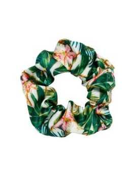Palm Print Scrunchie by Sportsgirl