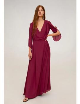 Blis   Długa Sukienka by Mango