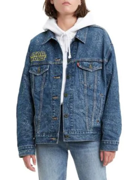 Star Wars X Levi's May The Force Be With You Dad Trucker Jacket by Levi's