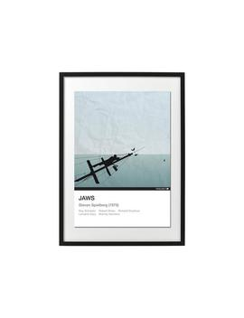 Smile You Son Of A…B*Tch!   Jaws A3 Poster Print   Minimalist Art Print, Movie Prints, Wall Art, Movie Poster. by Etsy