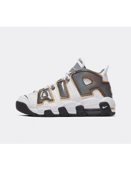Junior Air More Uptempo Se Gs Trainer | White / White / Anthracite by Nike