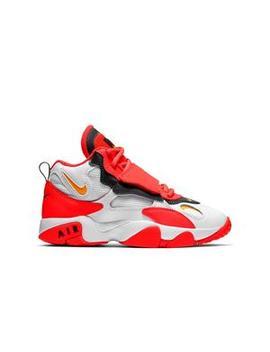 "Nike Air Max Speed Turf ""White/Laser Orange/Red Orbit"" Grade School Kids' Shoe Nike Air Max Speed Turf ""White/Laser Orange/Red Orbit"" Grade School Kids' Shoe by Hibbett"