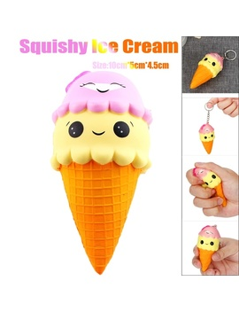 Squee Squishy Ice Cream Slow Rising Scented Relieve Stress Toy Gifts (Size:2) by Wish