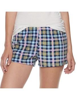 Juniors' So® Microfleece Pajama Shorts by Juniors' So