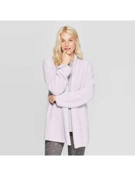 Women's Cozy Plush Sleep Cardigan   Stars Above™ by Stars Above