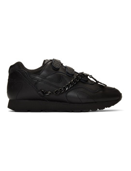 Black Nike Edition Outburst Sneakers by Comme Des GarÇons