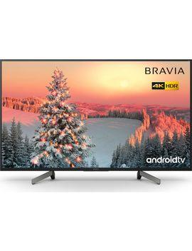 "Bravia Kd43 Xg8096 Bu 43"" Smart 4 K Ultra Hd Hdr Led Tv With Google Assistant by Currys"
