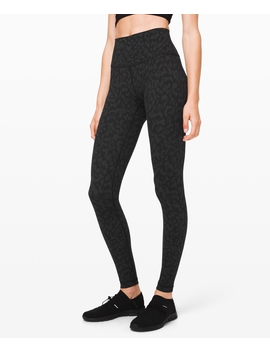 "Wunder Under High Rise Tight 28"" Full On Luxtreme New Full On™ Luxtreme by Lululemon"