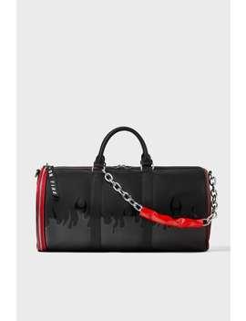 Fire Print Weekend Bag by Zara