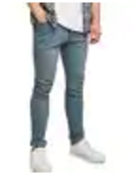 Misty Grey Stretch Skinny Jeans by Topman