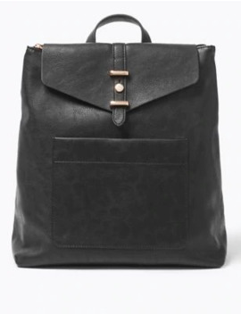 Soft Stud Backpack Bag by Marks & Spencer