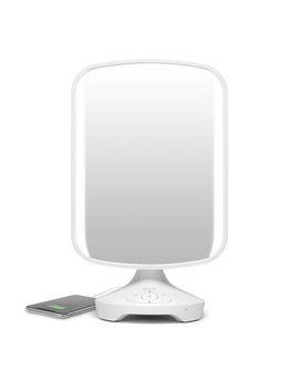 I Home Vanity Speaker Mirror With Bluetooth, Speakerphone And Usb Charging by Walmart