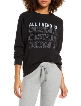 All I Need Is Cocktails Lounge Top by Project Social T