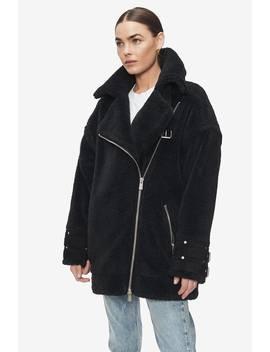 Fran Coat   Black by Anine Bing