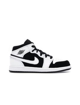 Jordan 1 Mid White Black (Ps) by Stock X