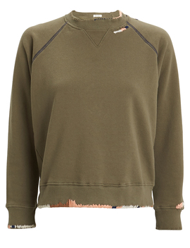 The Square Terry Sweatshirt by Mother