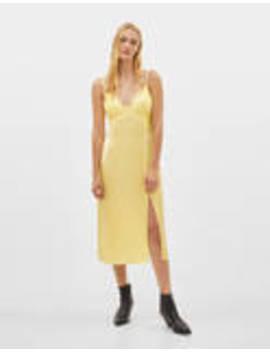 Cami Midi Dress by Bershka