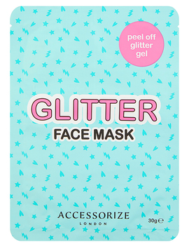 Peel Off Glitter Face Mask by Accessorize
