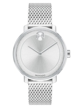 Bold Mesh Bracelet Watch, 34mm by Movado