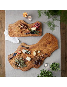Olivewood Serving Board by Terrain