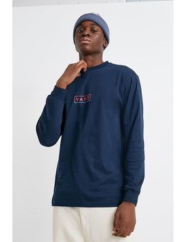 Vans Easy Box Checkerboard Long Sleeve T Shirt by Vans