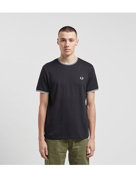 Fred Perry Tipped Ringer T Shirt by Fred Perry