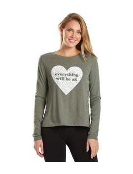 Everythink Will Be Ok Long Sleeve by Yoga Outlet
