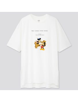 Women Disney Stories Ut Graphic Oversized Fit T Shirt by Uniqlo