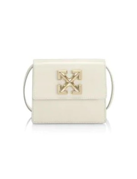 Jitney 0.7 Leather Crossbody Bag by Off White