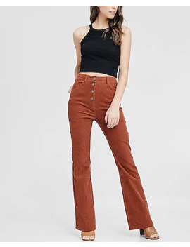 Emory Park Corduroy Flare Pant by Express