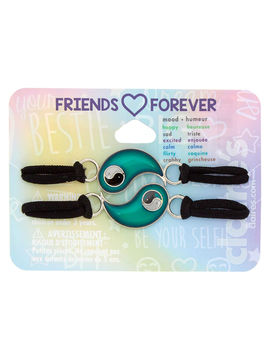 Mood Yin &Amp; Yang Stretch Friendship Bracelets   2 Pack by Claire's