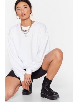 Workin' Up A Sweat Relaxed Sweatshirt by Nasty Gal